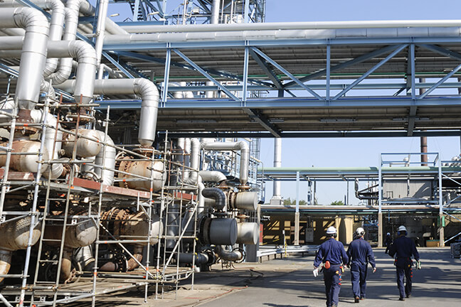 화학제조 업체 - 시스템 경영체제 구축