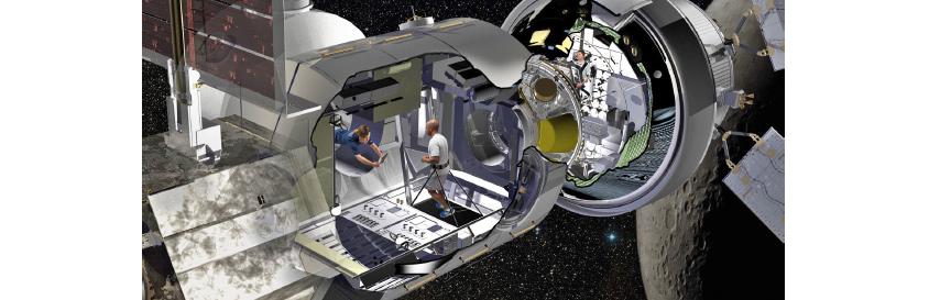 증강현실 기술을 활용한 우주선 프로토타입 개발 (록히드 마틴)