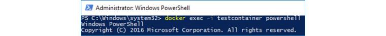 Docker EE 2.0의 시연화면 2