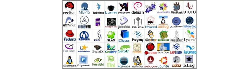 Linux 배포본을 제공하는 기업들 - Red Hat, SUSE 등