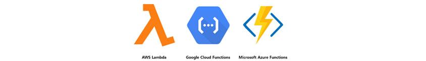주요 서버리스 컴퓨팅 서비스:AWS Lambda, Google Cloud Functions,Microdoft Azure Function