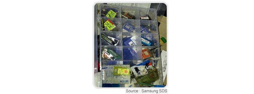 배송기사 Key 관리 현황 : source Samsungsds