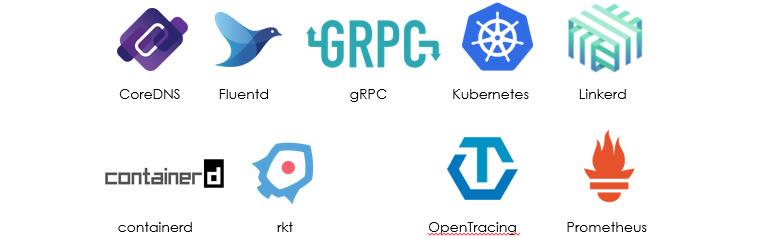 CNCF에서 지원하는 프로젝트 예시: https://www.cncf.io/- Kubernetes가 대표적인 프로젝트
