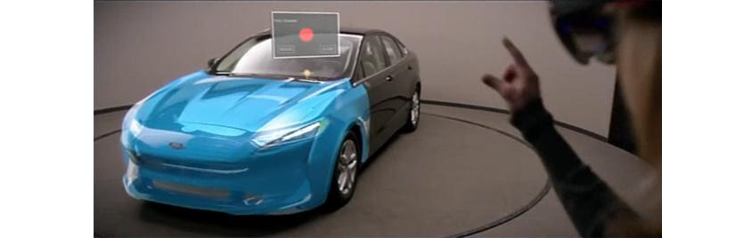 MR 예: Hololens를 활용한 Ford 자동차 디자인