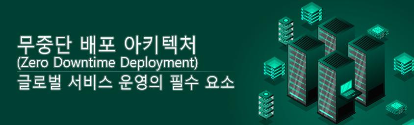 무중단 배포 아키텍처(Zero Downtime Deployment)- 글로벌 서비스 운영의 필수 요소