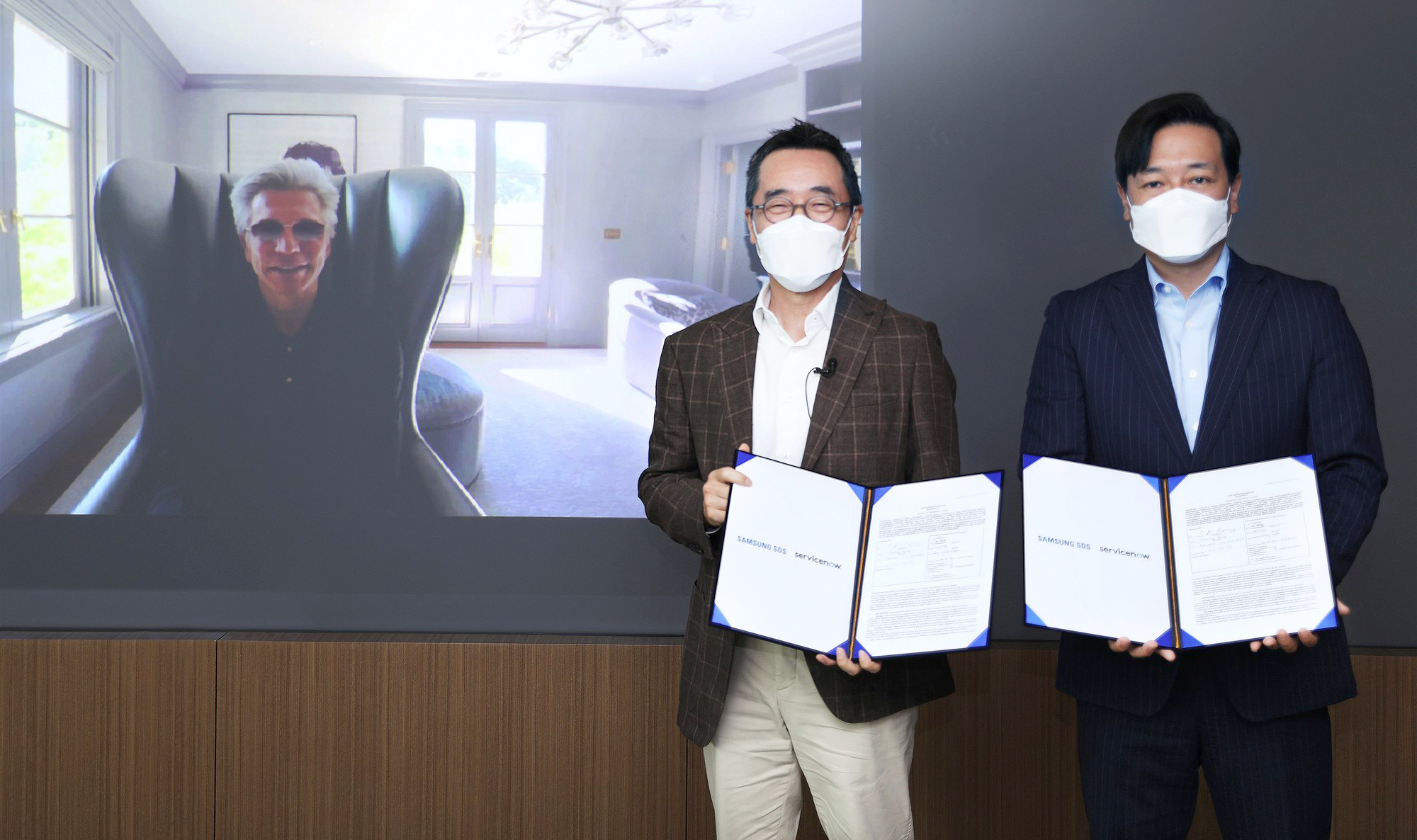 삼성SDS-서비스나우, 클라우드 기반 사업협력 강화