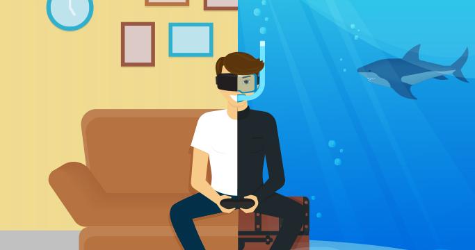 VR 관련 이미지