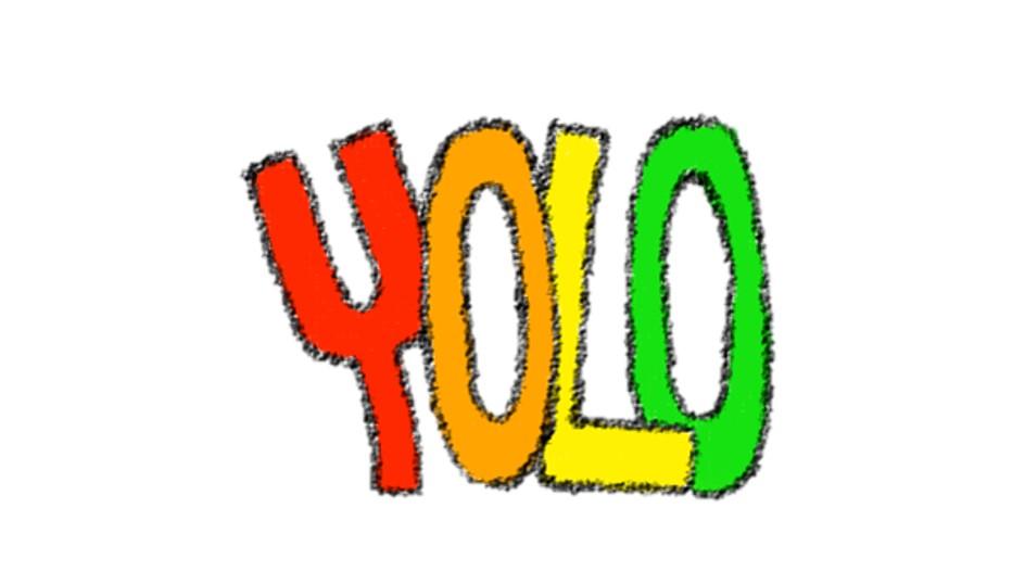 한 번 뿐인 인생을 즐기자! YOLO