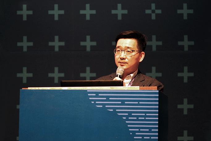 삼성SDS SL사업부 신우용 상무의 강연