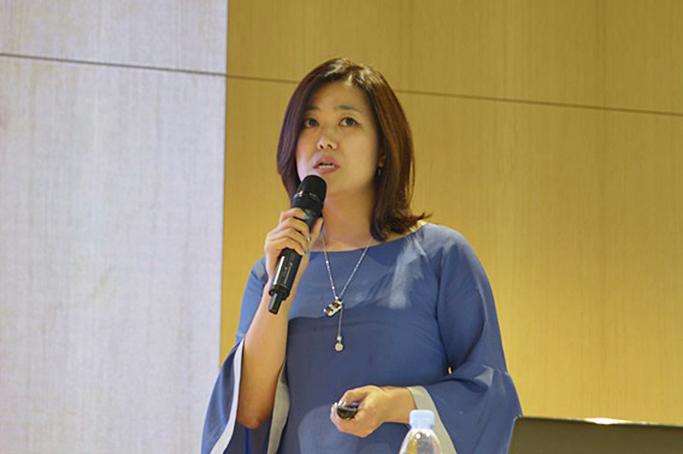 '개인화된 제품구매 경험'을 설명하는 삼성SDS 최영현 프로