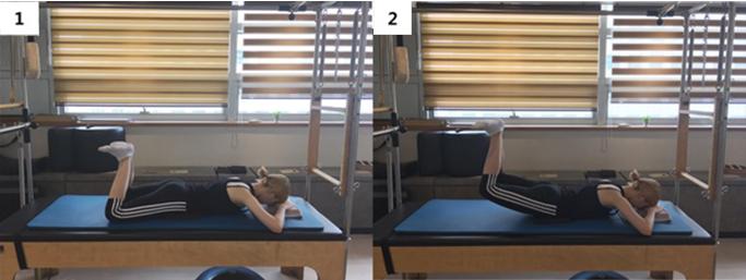 Heel squeeze & leg exetension 기본 동작