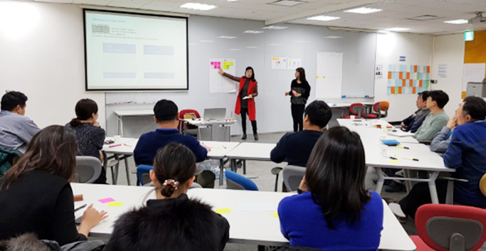 삼성SDS Design Thinking Workshop
