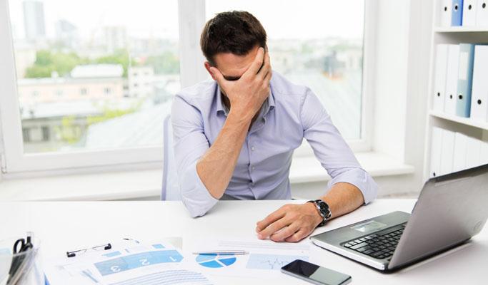 스트레스로 업무 몰입도가 떨어지고 있는 회사