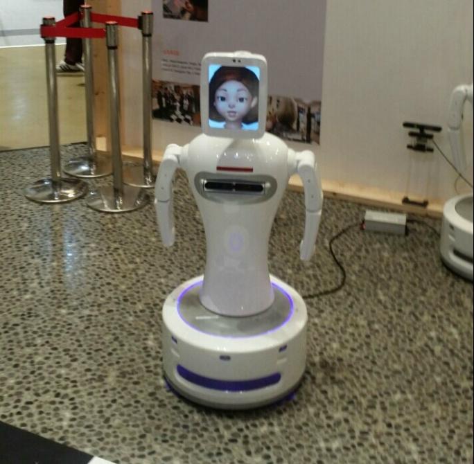 동작을 인지해주는 로봇 사진