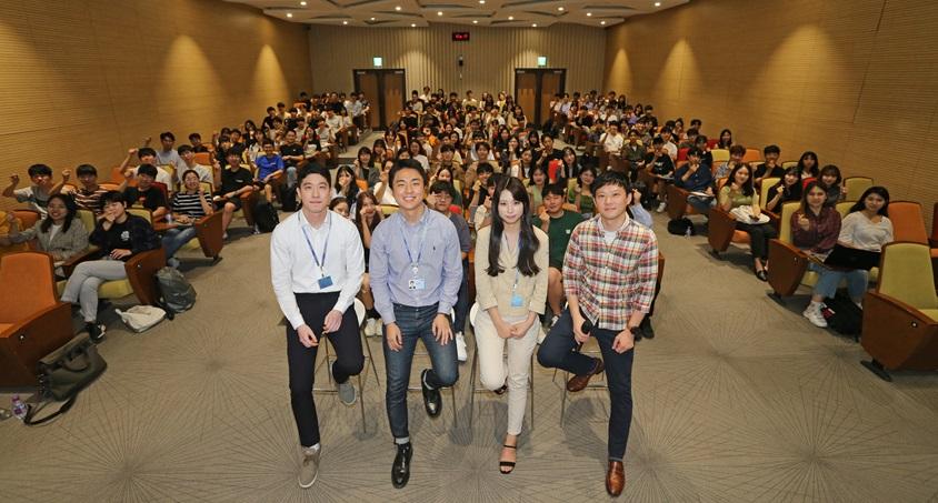 삼성SDS 대학생 멘토링 행사 모습
