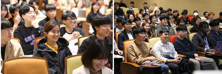 삼성SDS에서 개최한 '대학생 IT 개발자 멘토링'에 참석한 학생들