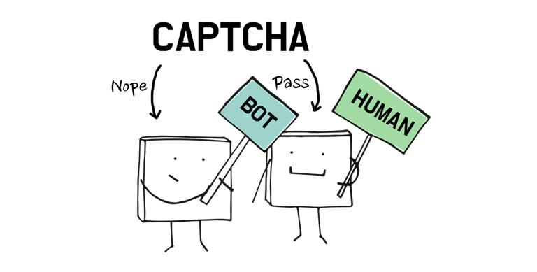 CAPTCHA(캡챠)는 사람과 로봇을 구별하기 위해 만들어진 인증 수단입니다