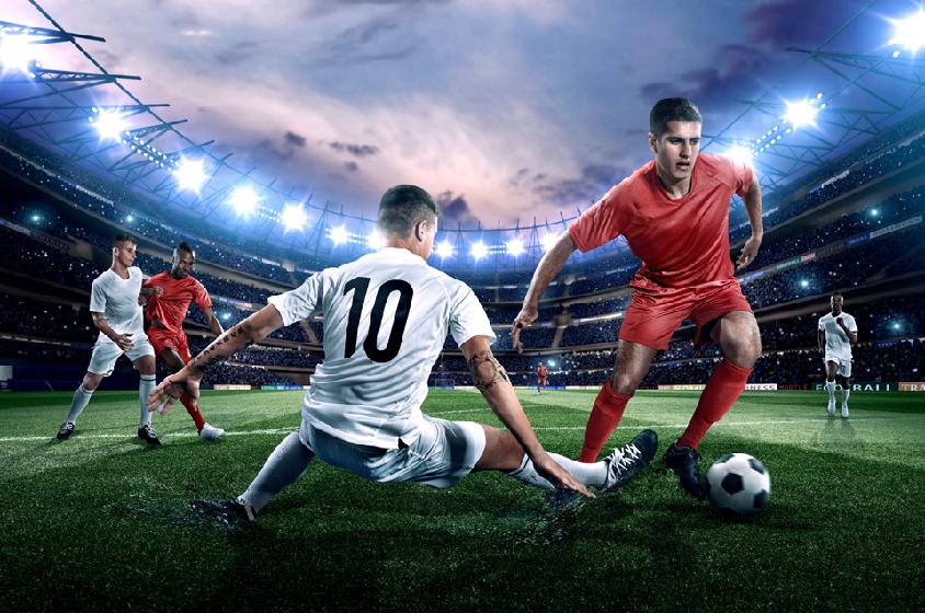 축구 경기는 워낙 순식간에 진행되어 어느 곳에서 어떤 상황이 벌어질지 예측하기 어렵다