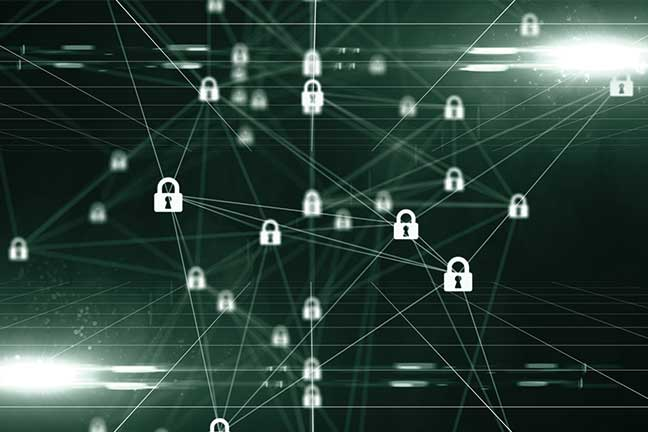 Armazene e compartilhe grandes volumes de dados, consulte-os em tempo real e use dispositivos armazenados no blockchain.