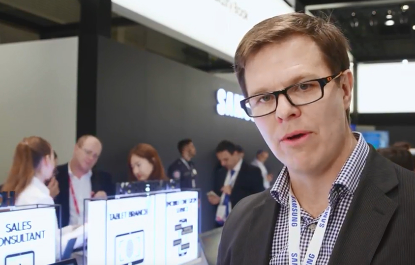 MWC 2018 - Samsung SDS Nexsign for Finance