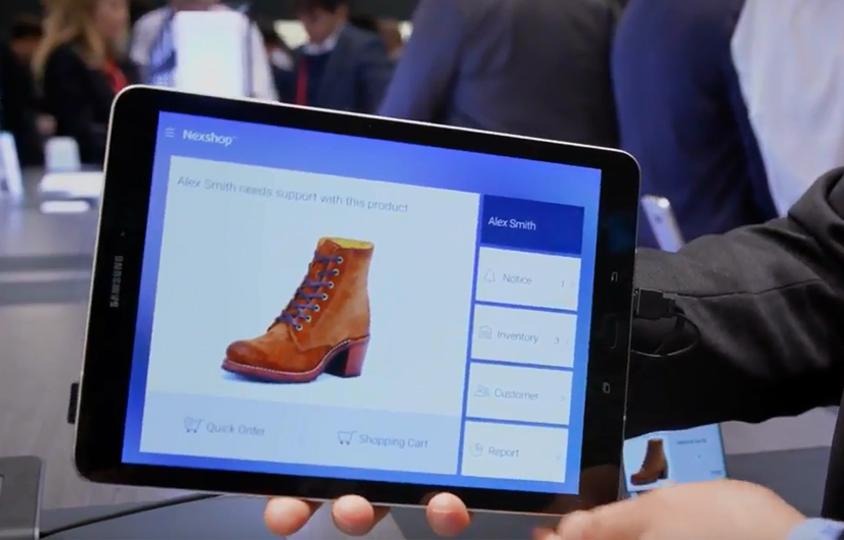 MWC 2018 - Samsung SDS Nexshop for Retail