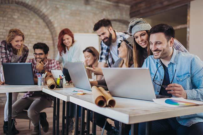 Colaboração a qualquer hora e em qualquer lugar por meio de soluções perfeitamente conectadas