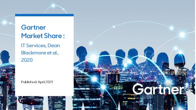 A Samsung SDS ficou em 25º lugar na classificação mundial e em 3º lugar no setor de TI para fabricação no Gartner Market Share, publicado em abril de 2021