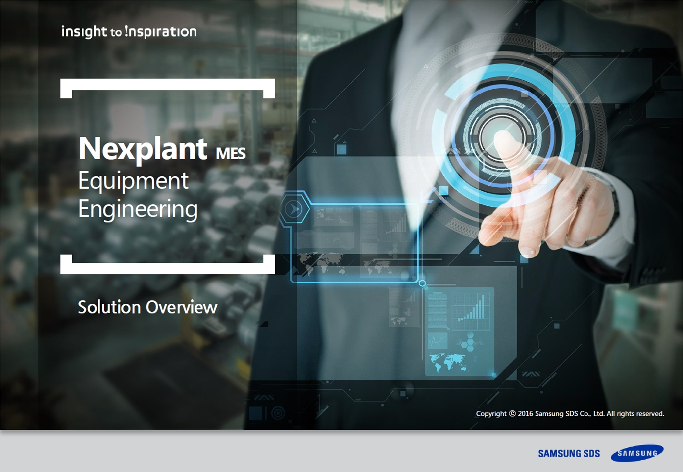 [Nexplant MES][PRESENTATION] Nextplant MES, engenharia de equipamentos em resumo (Proactive core equipment management with low initial investments)