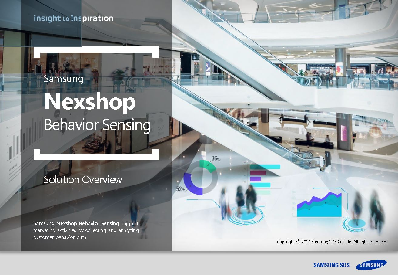 Nexshop Behavior Sensing