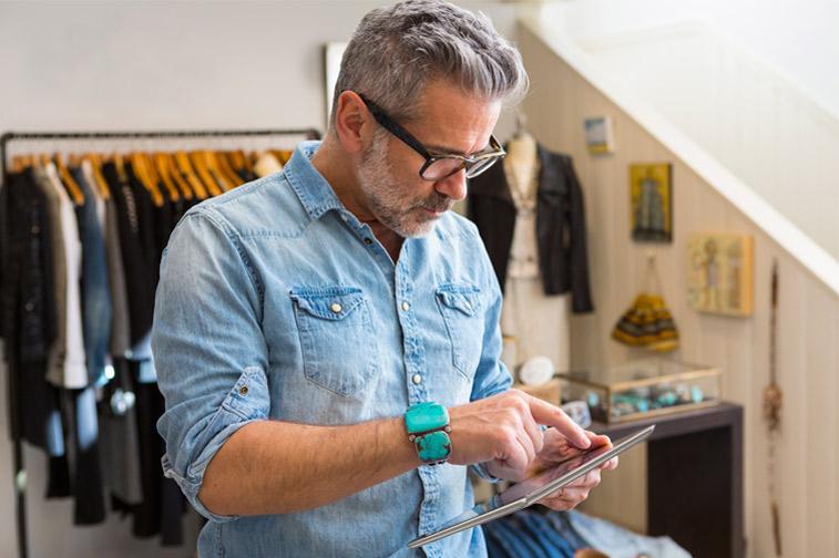Suporte de vendas utilizando o celular