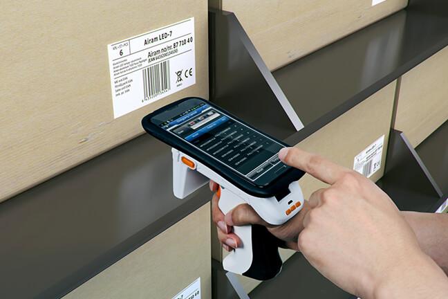 Use dispositivos móveis como leitores all-in-one