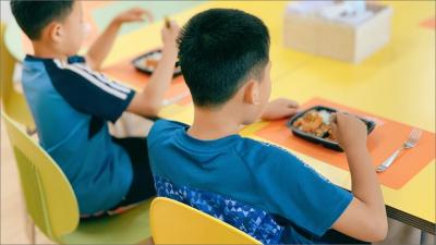 결식청소년 식사지원 사진