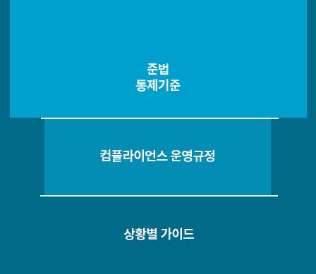 준번 통제기준, 컴플라이언스 운영규정, 상황별 가이드