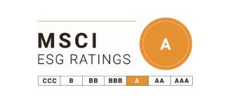MSCI ESG RATINGS A등급