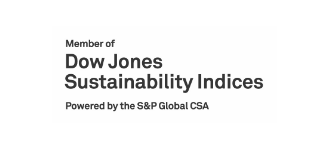 Member of Dow Jones Sustainability Indices Powered by the S&P Global CSA