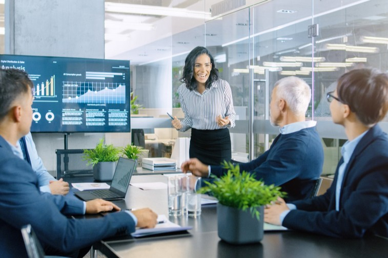 How does conference room scheduling software enable productivity?
