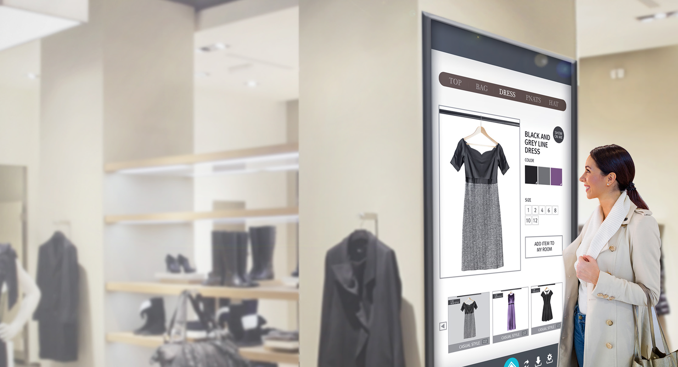 Is interactive digital signage more than just trendy ads?
