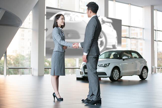 Create automobile experience zones