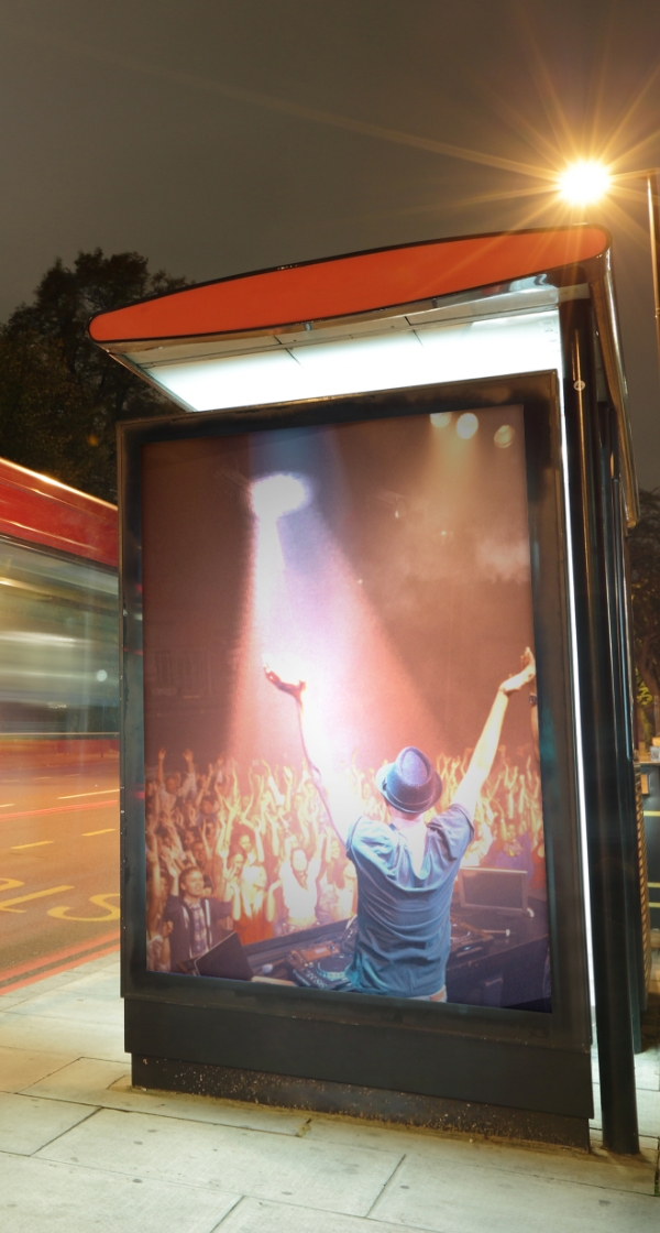 Interactive digital signage for vector media's Las Vegas digital out-of-home network