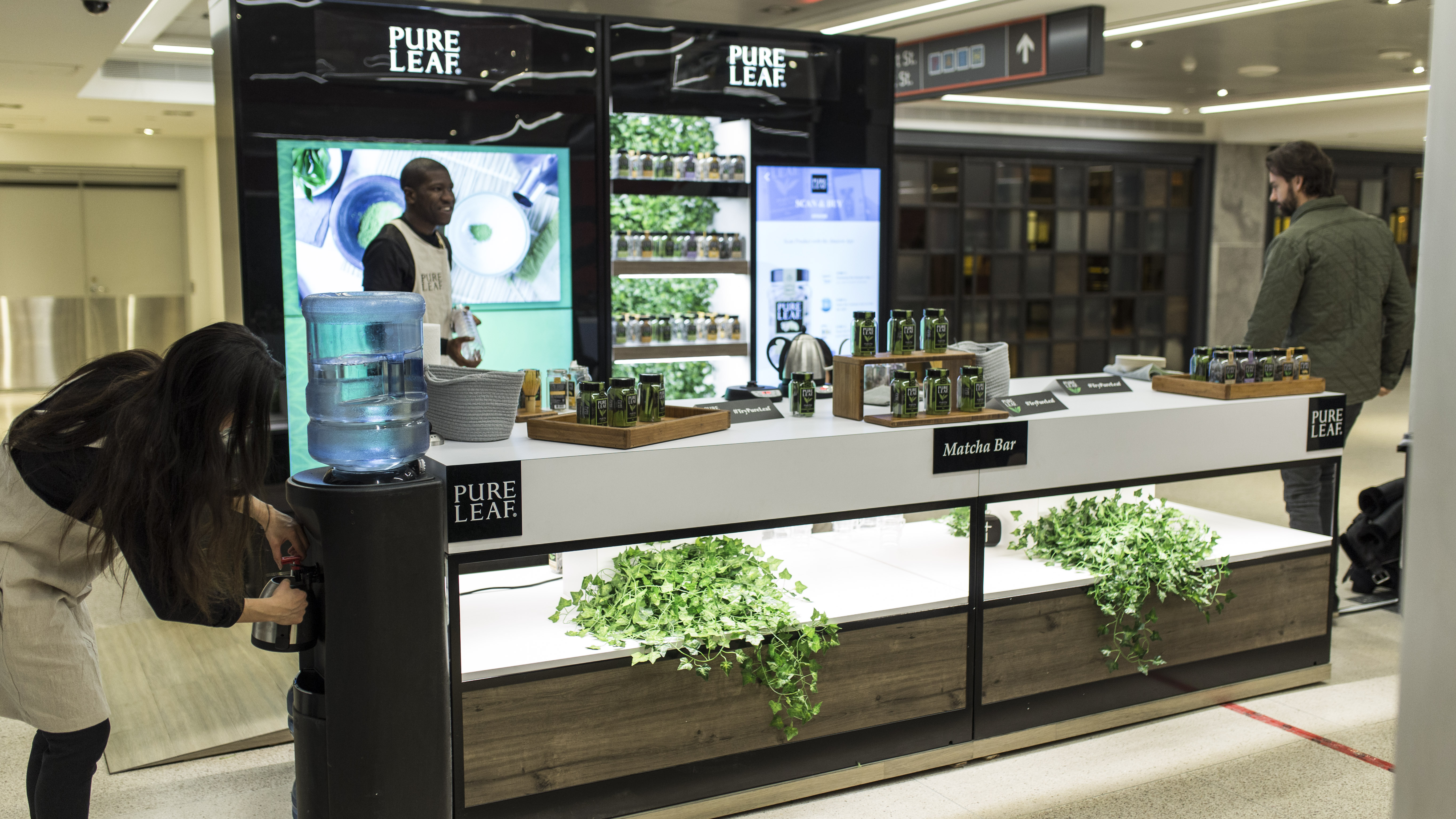 Watch how Pure Leaf's brand was brought to life through a pop-up
