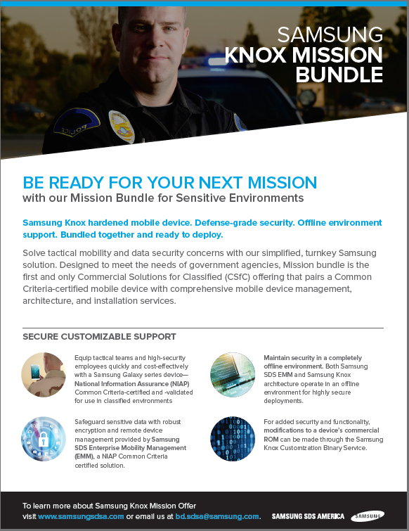 Be Ready for Your Next Mission with our Mission Bundle for Sensitive Environments(Police)