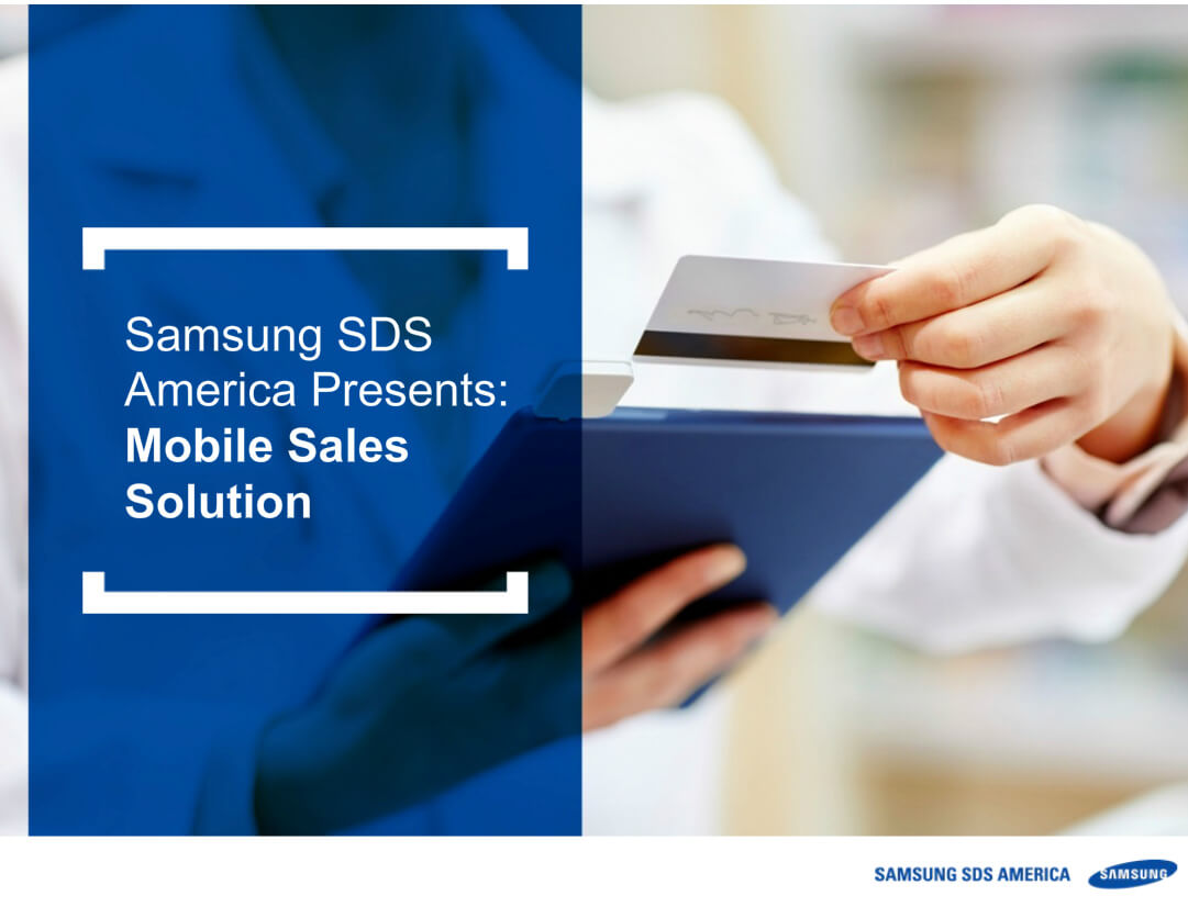 Creating convenient shopping experiences with Nexshop Sales (Mobile Sales)