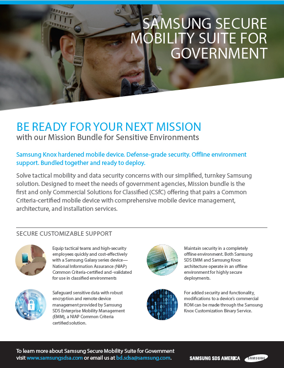 Be Ready for Your Next Mission with our Mission Bundle for Sensitive Environments(Military)