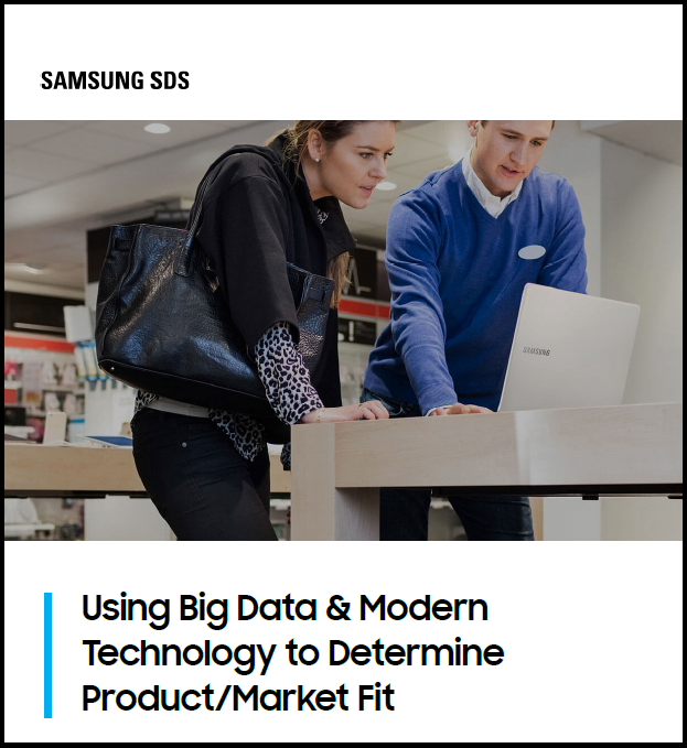 Using Big Data & Modern Technology to Determine Product/Market Fit White Paper