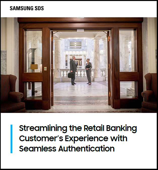 Streamlining the Retail Banking Customer's Experience with Seamless Authentication White Paper