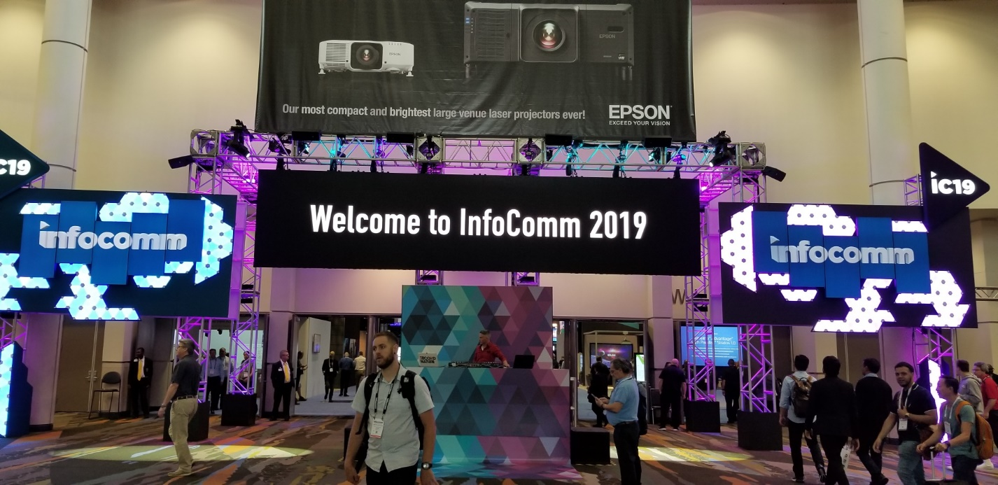 At InfoComm 2019, Samsung delivered an inspiring visual experience, showcasing a powerful suite of new display and business intelligence solutions.