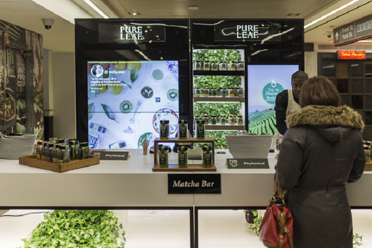Agile Retail and Connected Spaces Help Pure Leaf Capture the Season