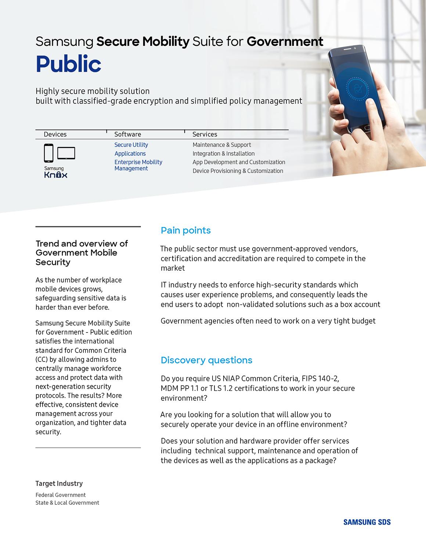 Secure Mobility - Public