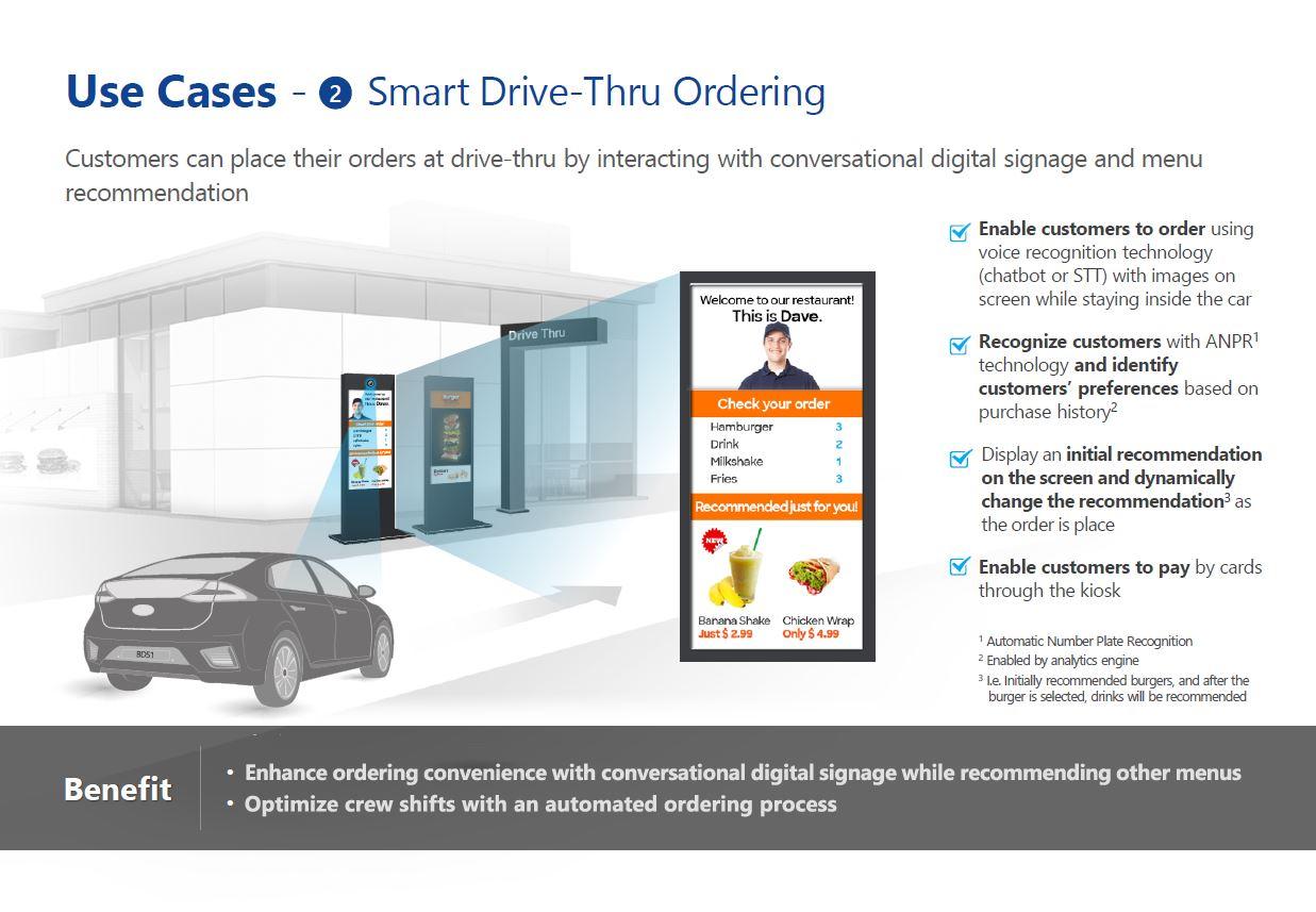 Customized drive-thru experience