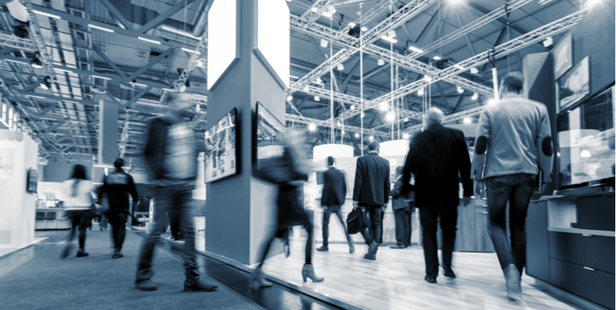 Digital Signage Solutions in the Convention Center